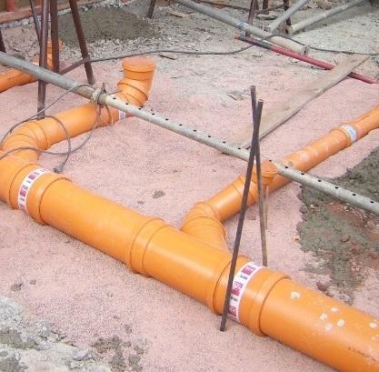 Abwasserleitungen